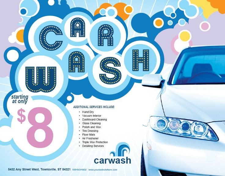 Car Wash Flyers Template 17 Best Images About Car Wash Flyer Inspiration On
