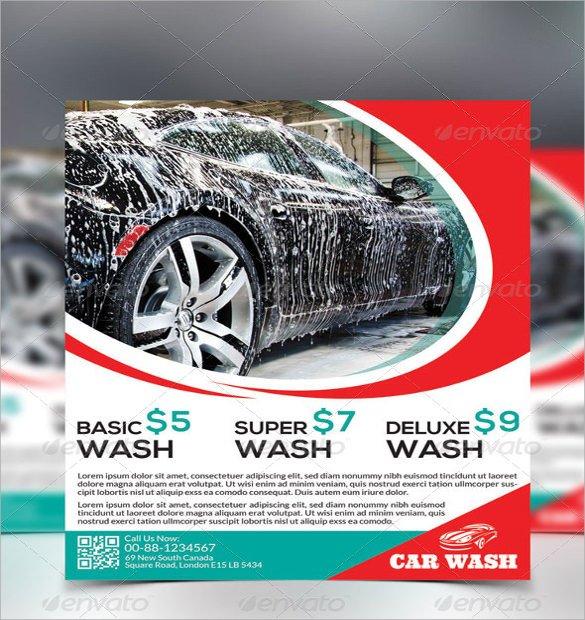 Car Wash Flyers Template 26 Car Wash Flyers Psd Word Psd Ai Eps Vector