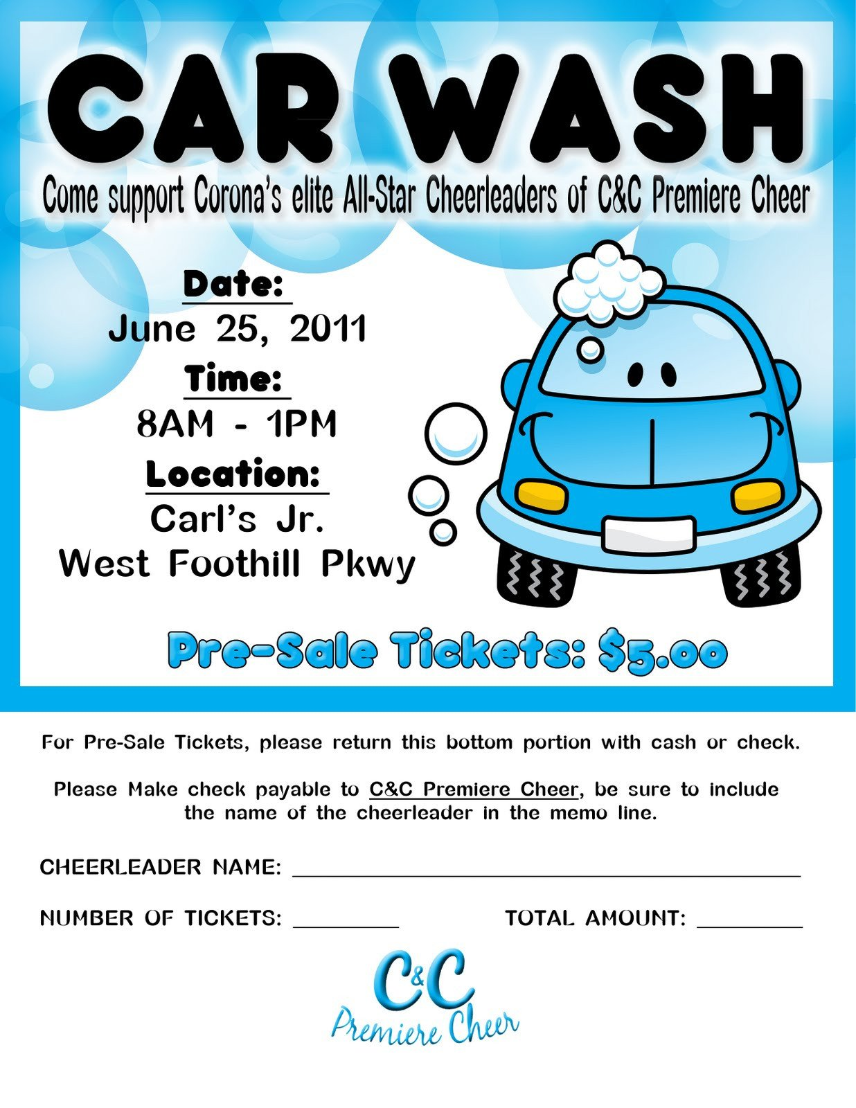 Car Wash Ticket Template Microsoft Word Graphy and Graphic Designby Khylia