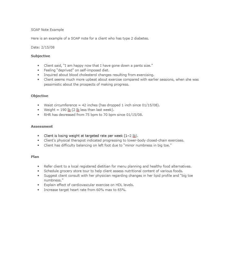 Cardiology Consult Template 40 Fantastic soap Note Examples & Templates Template Lab