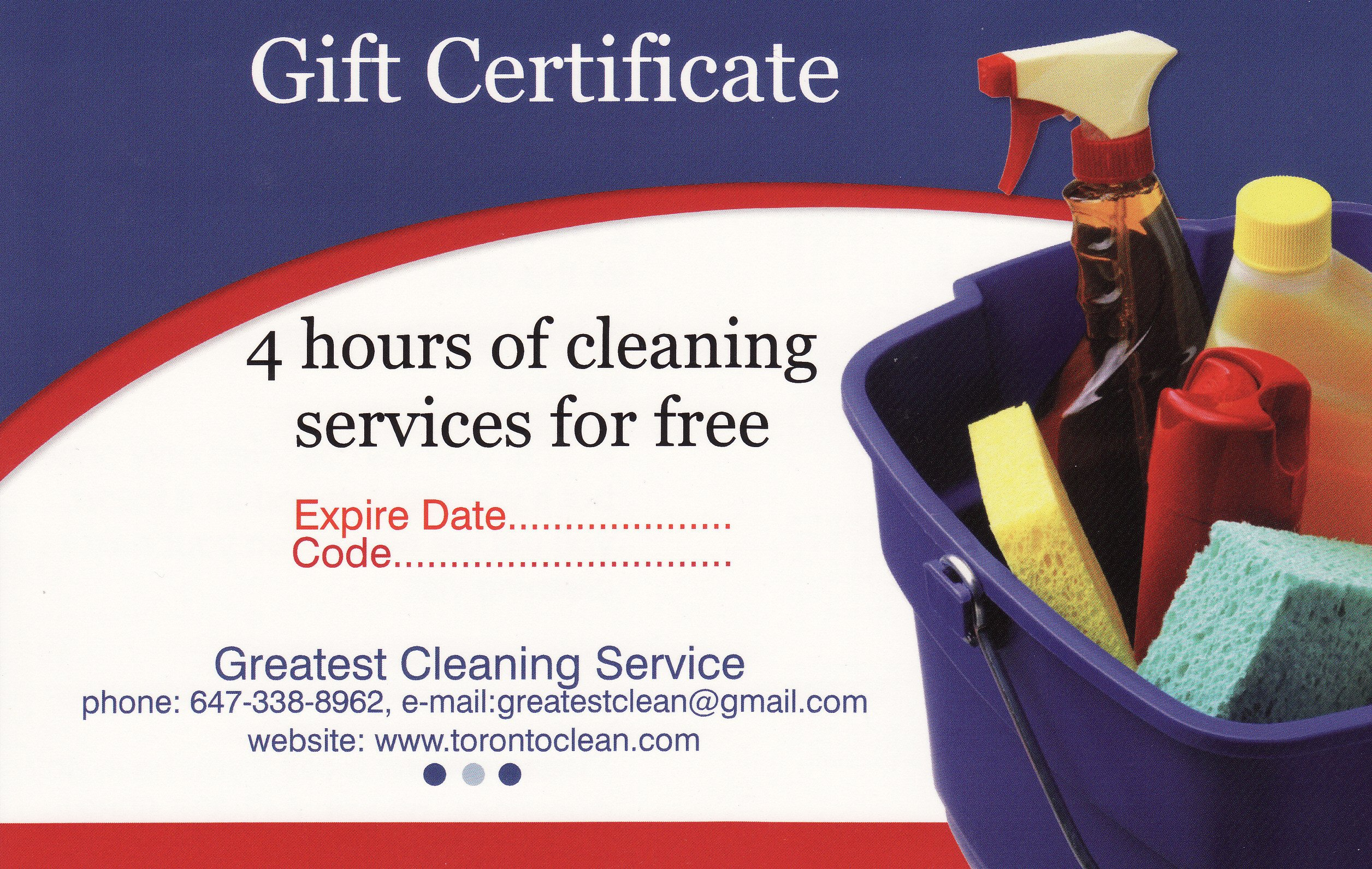 Carpet Cleaning Gift Certificate Template Cleaning Gift Certificate toronto Maid Services Gift
