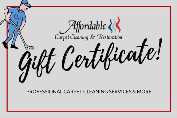 Carpet Cleaning Gift Certificate Template Gift Certificates Available Give the Gift Of A Clean