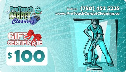 Carpet Cleaning Gift Certificate Template Gift Certificates Carpet Cleaning Edmonton