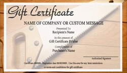 Carpet Cleaning Gift Certificate Template Home Maintenance Gift Certificate Templates
