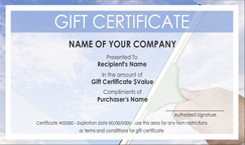 Carpet Cleaning Gift Certificate Template House Cleaning Service Gift Certificate Templates