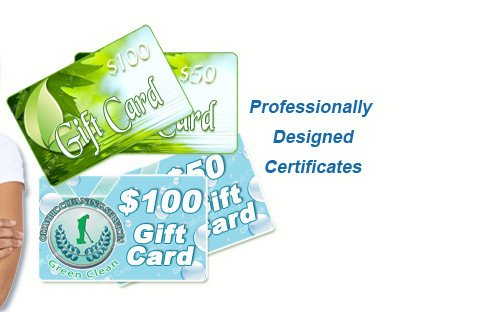 Carpet Cleaning Gift Certificate Template Maid Service Maid Service forms