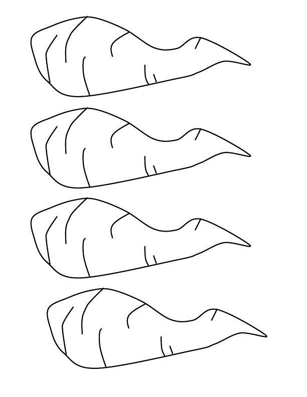Carrot Nose Printable Cutout Olaf Noses Frozen Party Pinterest