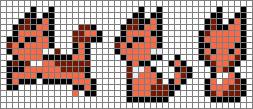 Cat Pixel Art Grid Chronotriggerds
