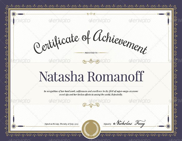Certificate Of Achievement Word Template 55 Printable Award Certificate Templates Word Psd Ai