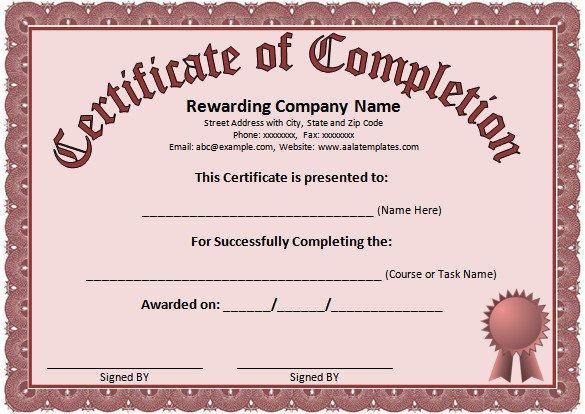 Word Certificate Template 49 Free Download Samples