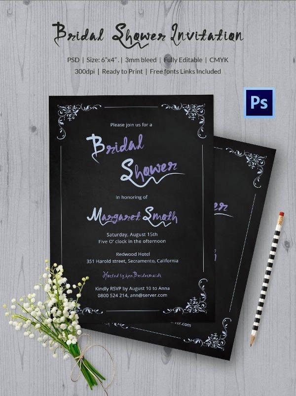 Chalkboard Invitation Template Free Chalkboard Invitation Template 45 Free Jpg Psd