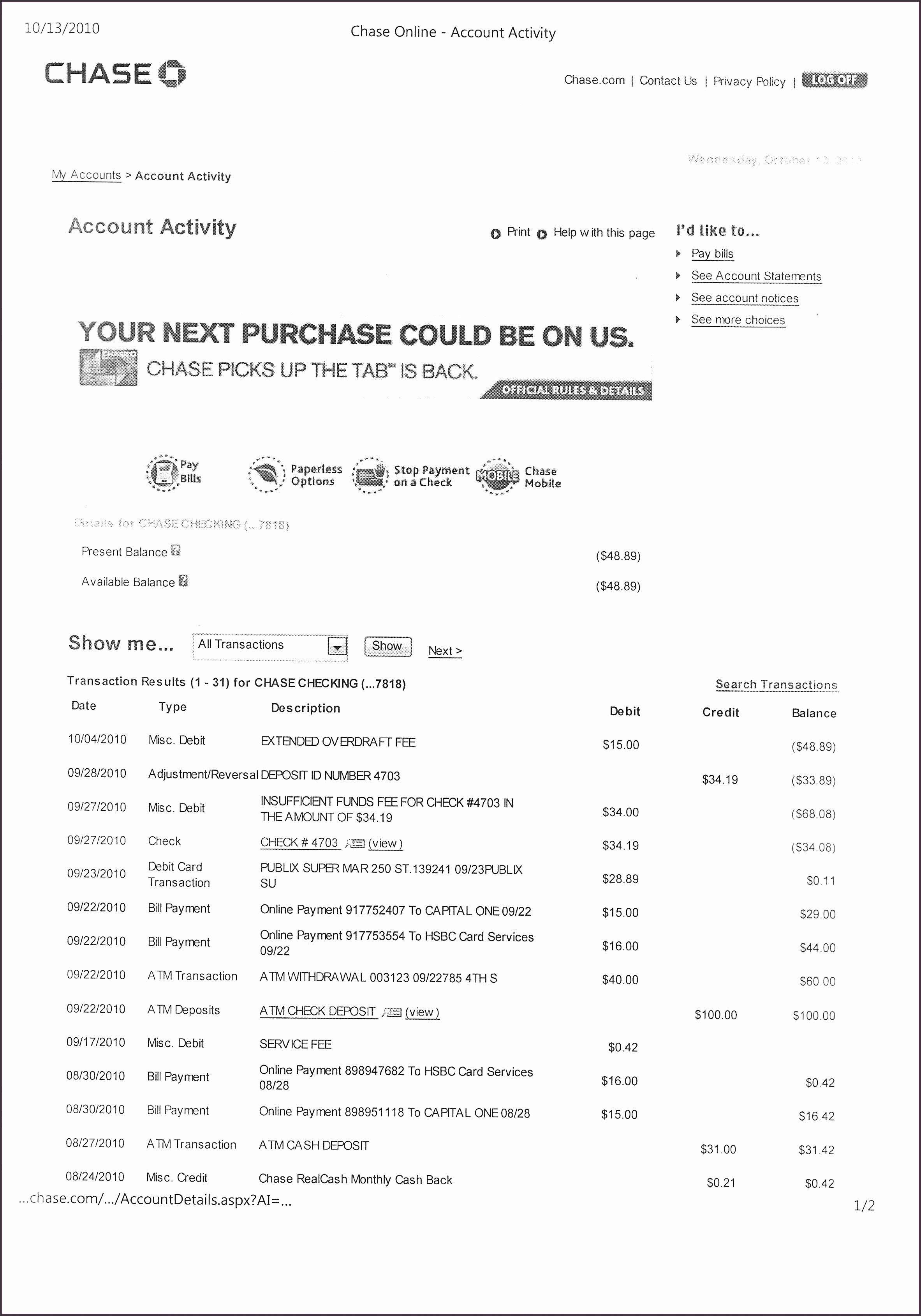 8 Bank Statement Maker SampleTemplatess SampleTemplatess
