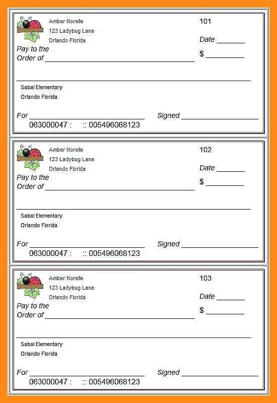 Check Printing Template Excel 12 13 Free Editable Cheque Template