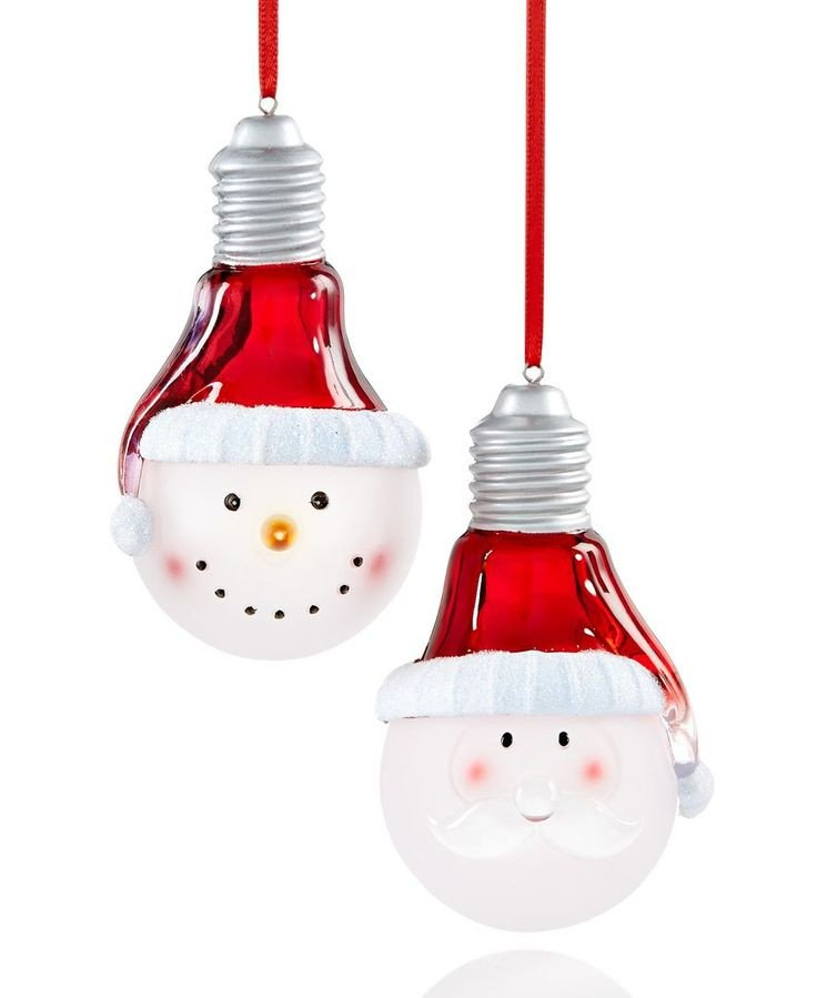 1000 ideas about Lightbulb Ornaments on Pinterest