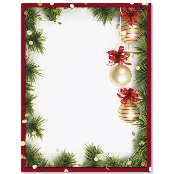 Christmas Twilight Border Papers PaperDirect