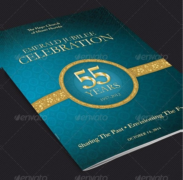 Church Anniversary Program Template 20 Cover Templates Free Psd Vector Eps Png format