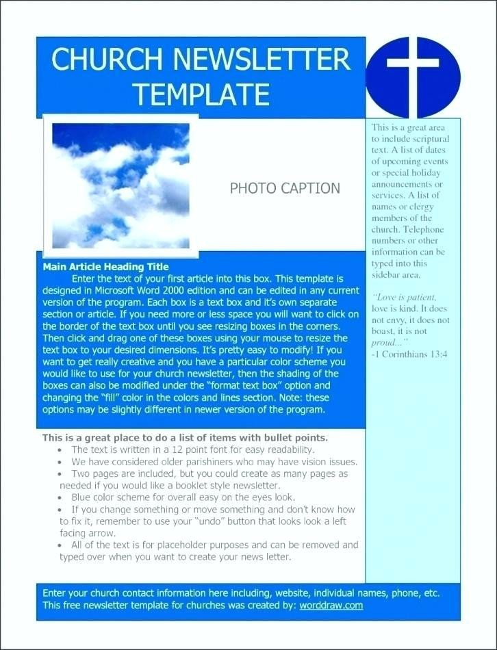 Church Bulletin Templates Microsoft Publisher Church Bulletin Templates Microsoft Publisher