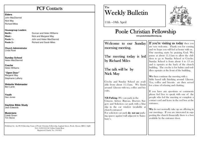 Church Bulletin Templates Microsoft Publisher Church Bulletin Templates Microsoft Publisher Templates