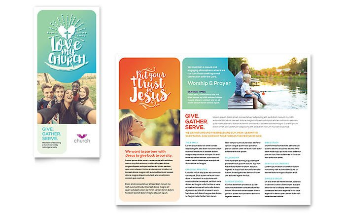 Church Bulletin Templates Microsoft Publisher Microsoft Fice Church Bulletin Templates for Publisher