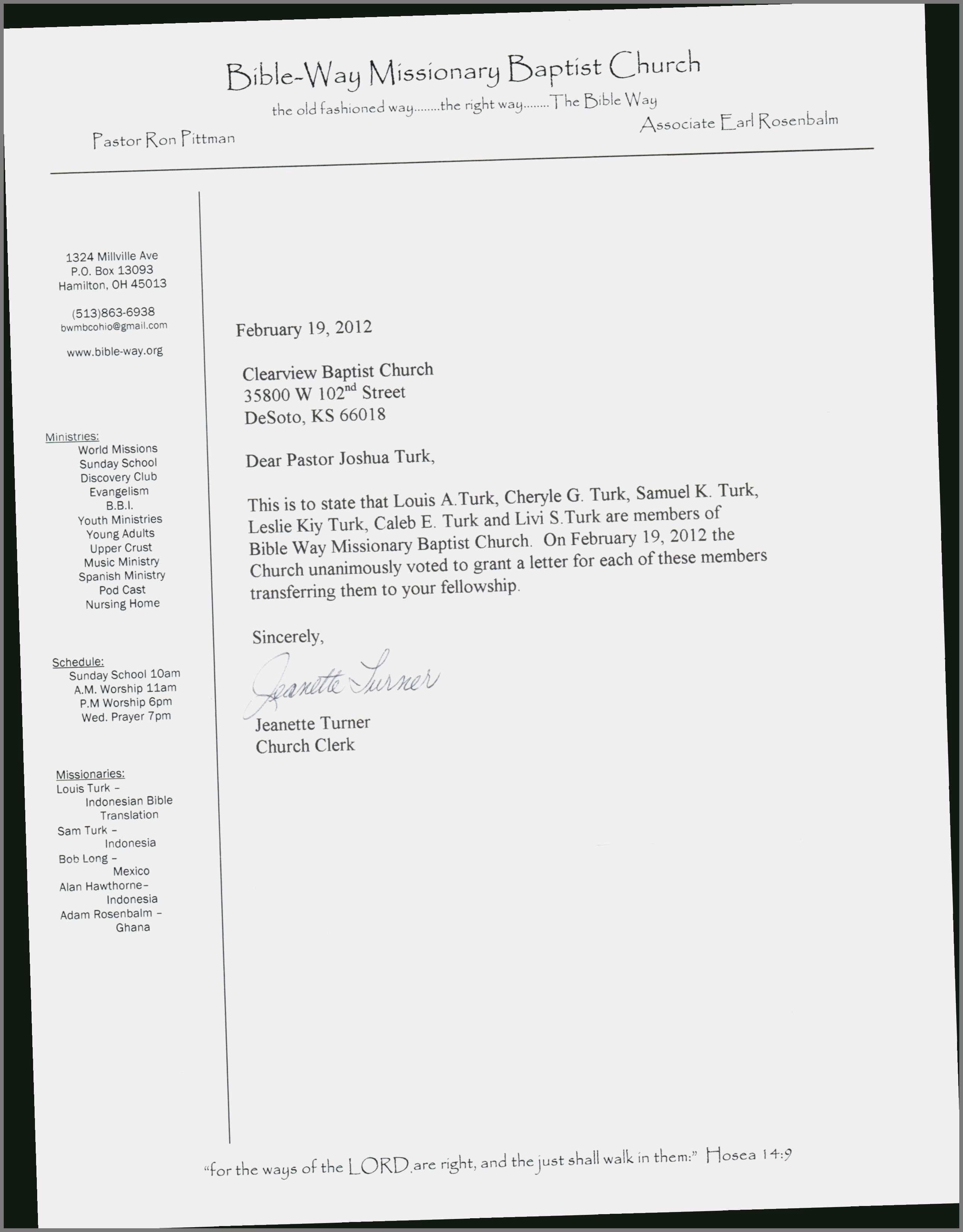 Church Membership Transfer Letter 14 Aesthetic Churches In Desoto Tx