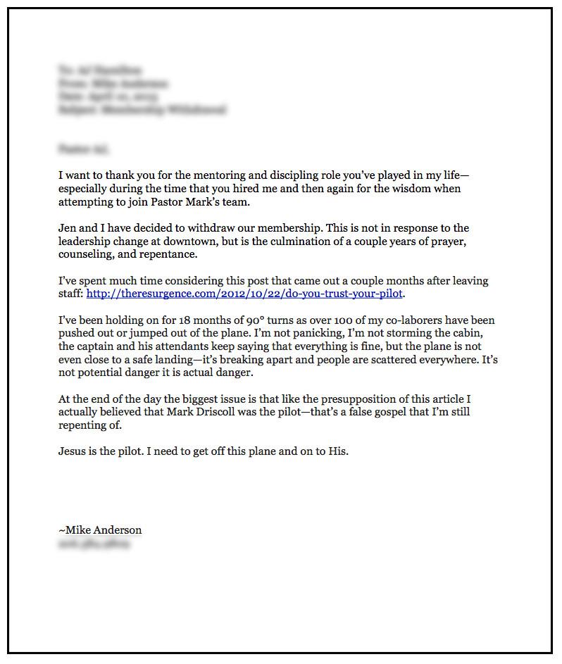 Church Membership Transfer Letter Church Membership withdrawal Letter – Business form Letter