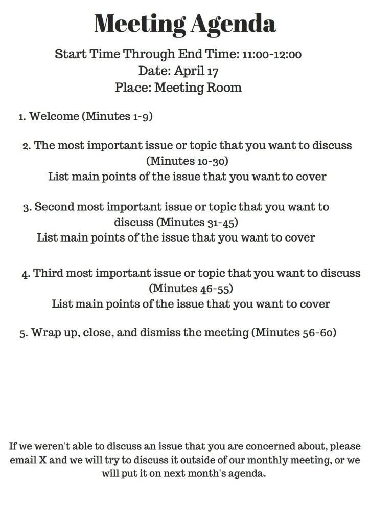 Church Staff Meeting Agenda Template why Your Nonprofit Needs Meeting Agendas