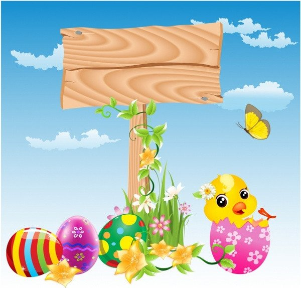 Closed Easter Sign Template Easter Free Vector 507 Free Vector for