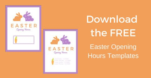 Closed Easter Sign Template Last Minute Easter Promotion Checklist [ Free Printables
