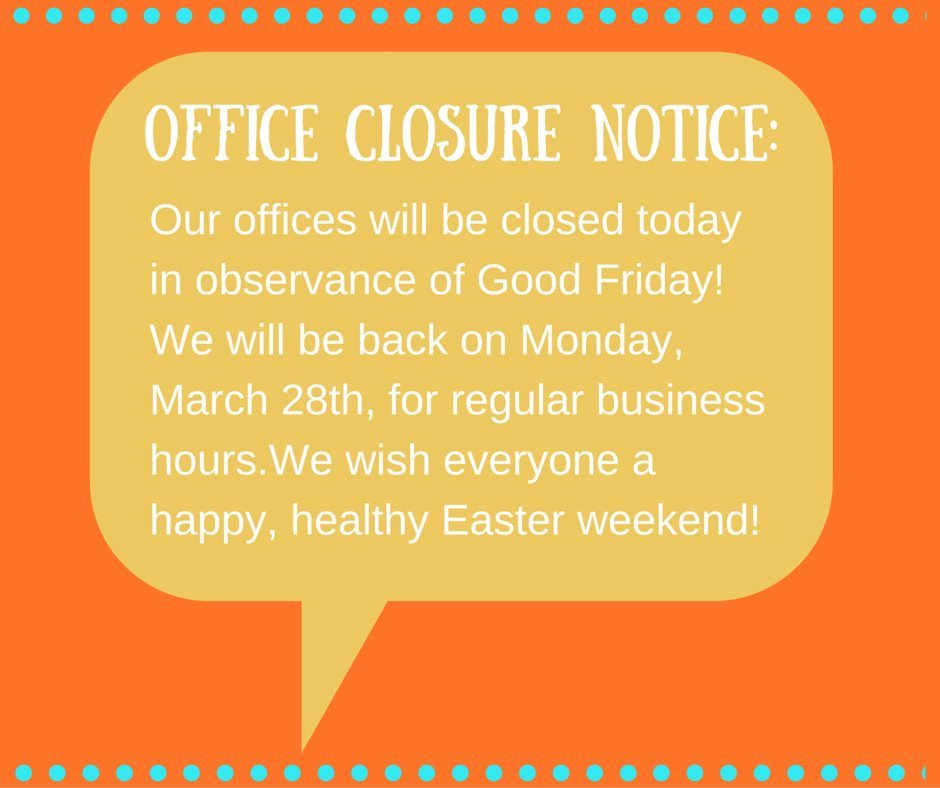 Closed Good Friday Sign Fice Closed Notice Will Be to Pin On Pinterest