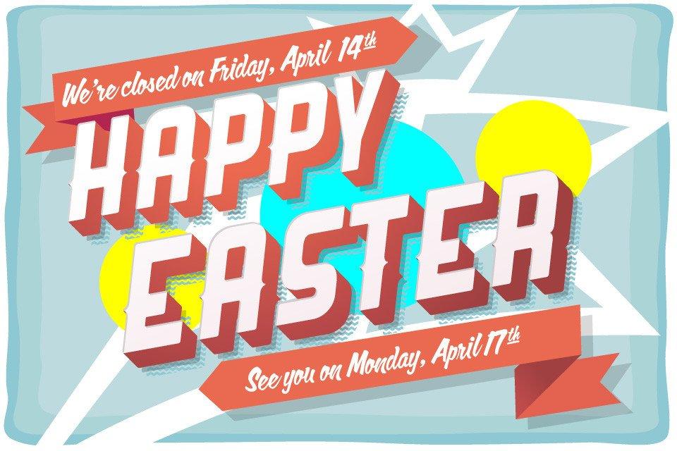 Closed Good Friday Sign Good Friday Easter – Closed – Express Cheer – Dallas