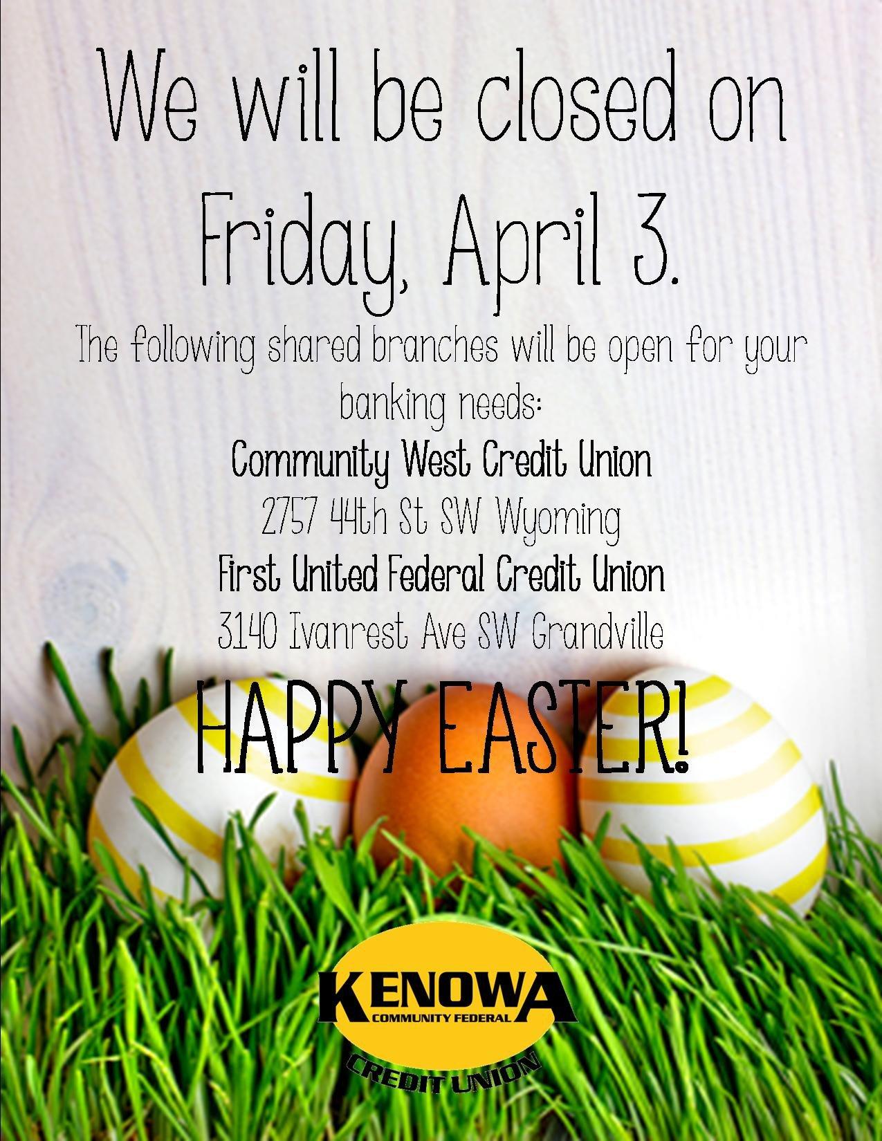 Wel e to Kenowa munity Federal Credit Union Kenowa