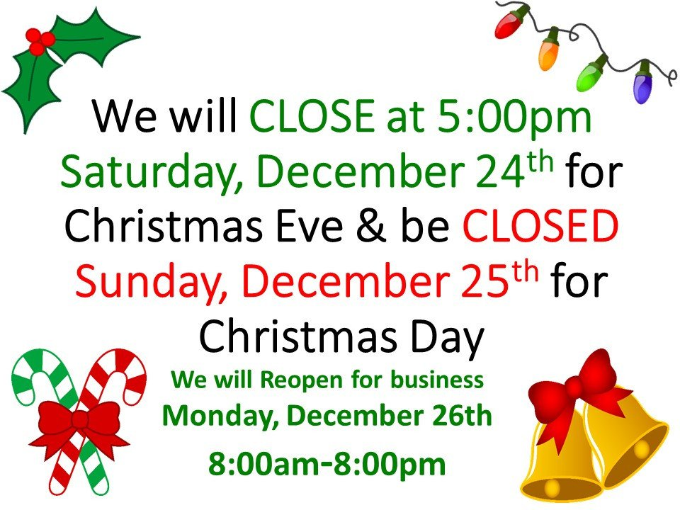 Closing Early Sign Template Merry Christmas From Farmer S Fresh Farmers Fresh Market