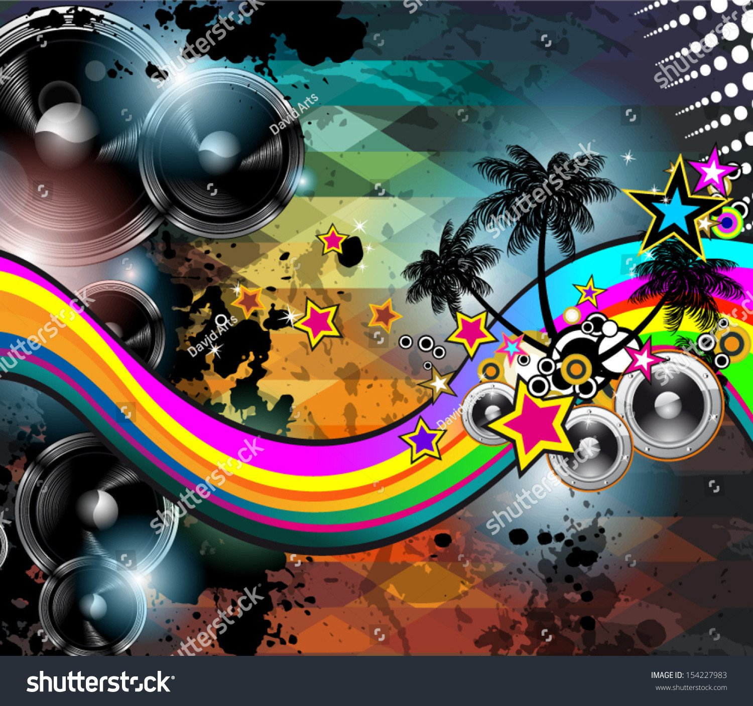 Club Flyer Background Templates Abstract Club Flyer Template Abstract Background to Use