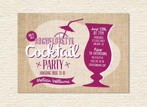 Cocktail Party Invitation Template 21 Stunning Cocktail Party Invitation Templates & Designs