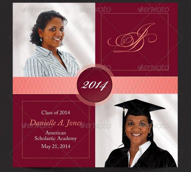 College Graduation Announcements Template 25 Graduation Invitation Templates Psd Vector Eps Ai
