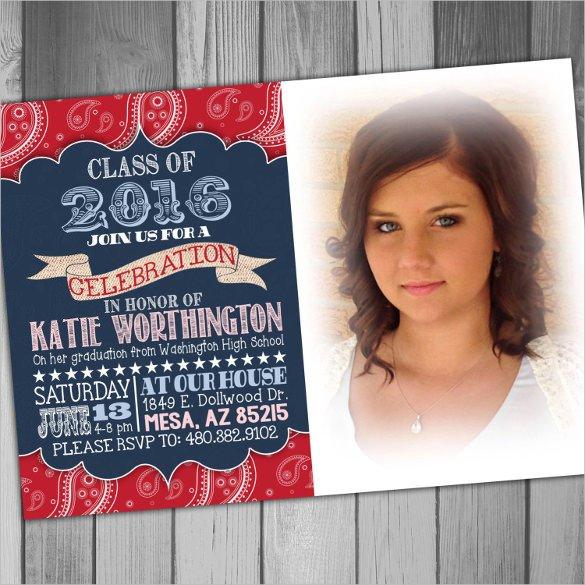 College Graduation Announcements Template 59 Invitation Templates Psd Ai Word Indesign