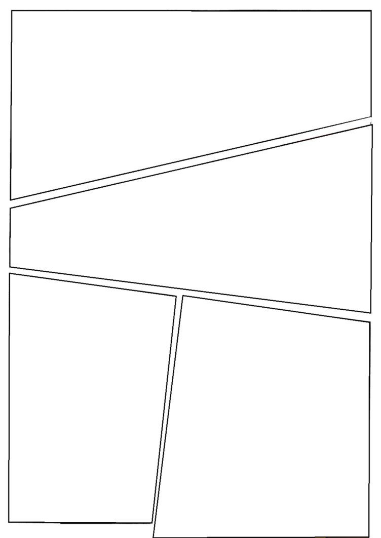 Comic Book Panel Template C I C S Bucktown Art Ic Template to Use