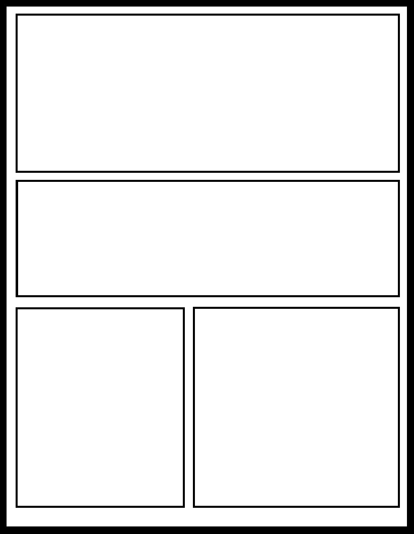 Comic Book Panel Template Smt 13 by Ic Templates On Deviantart