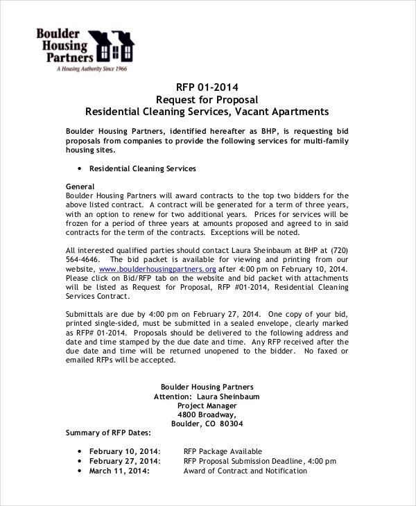 Commercial Cleaning Proposal Template Free Business Proposal Template 35 Free Word Pdf Psd