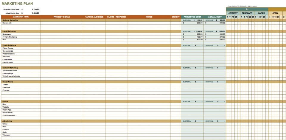 Communication Plan Template Excel Free Munication Strategy Templates and Samples