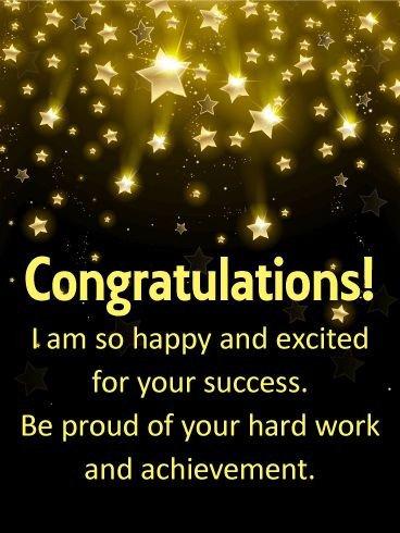 Congratulation Letter On Achievement Best 25 Congratulations Messages for Achievement Ideas On