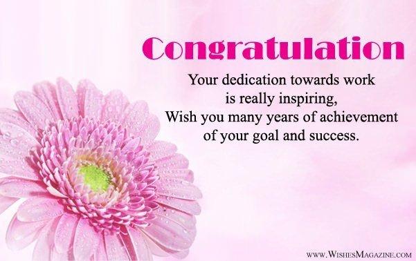 Congratulation Letter On Achievement Congratulations Messages for Achievement