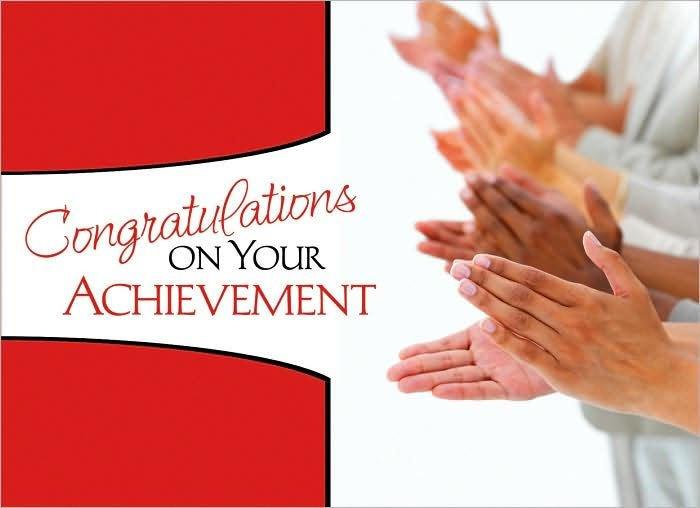 Congratulation Letter On Achievement Congratulations On Your Achievement by Kathy Shutt