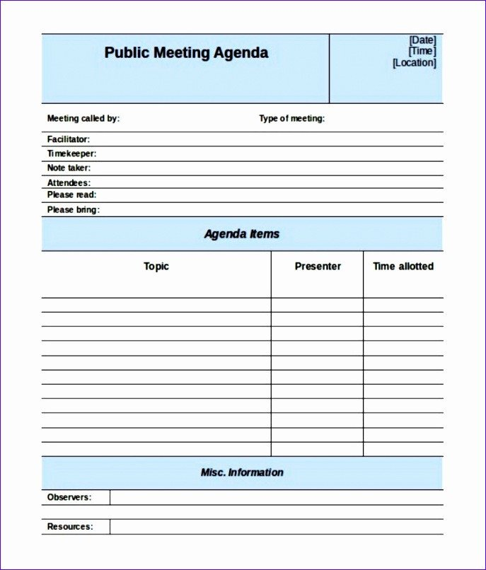 Construction Meeting Minutes Template Excel 6 Meeting Minutes Template Excel Exceltemplates