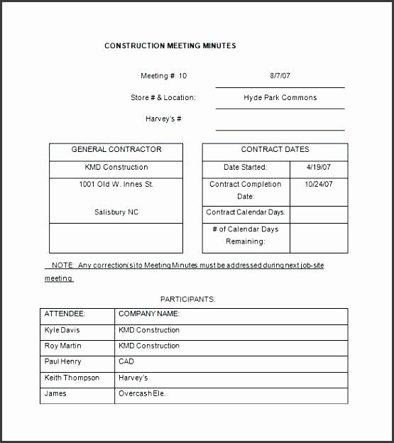 Construction Meeting Minutes Template Excel 6 Project Debrief Template Sampletemplatess