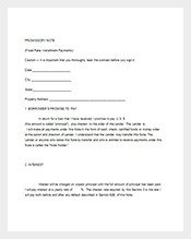 Convertible Promissory Note Template Promissory Notes – 112 Free Word Excel Pdf format