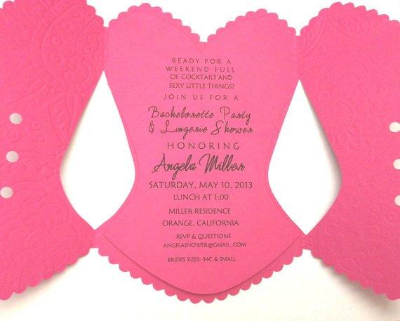 Corset Invitation Template Free 10 Best S Of Corset Wedding Invitations Bridal