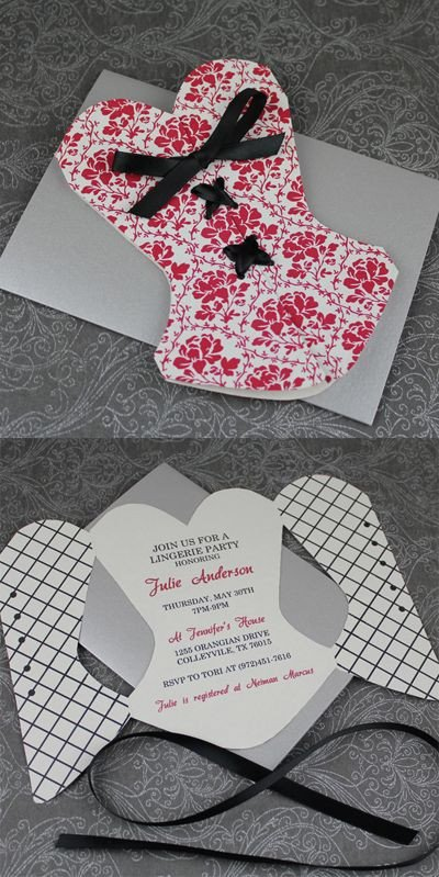 Corset Invitation Template Free Lingerie Shower Invitations On Pinterest