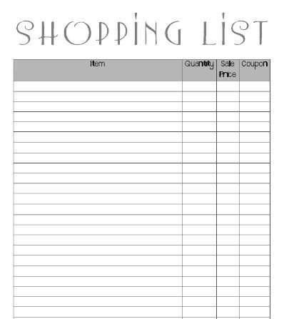 Coupon Binder Categories Template 18 Best Images About Coupon Binder On Pinterest
