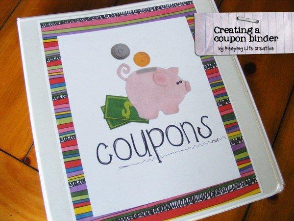 Coupon Binder Categories Template Diy Creating A Coupon Binder Keeping Life Creative